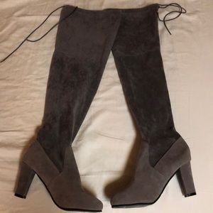 Shoes - Over the knee adjustable boots